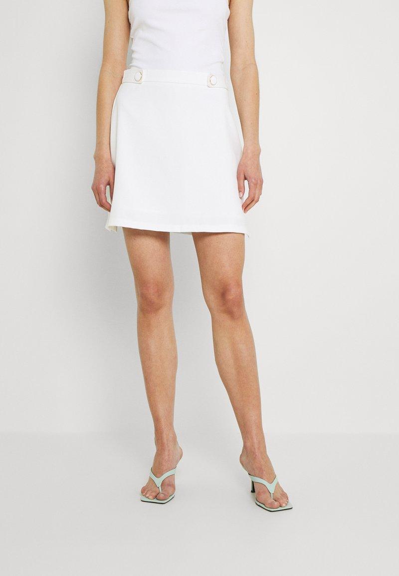 Fashion Union - ROSCOFF SKIRT - Minisukně - white