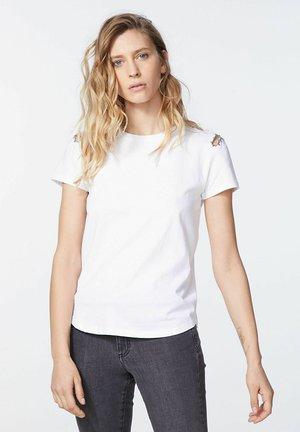 Basic T-shirt - blanc cassé