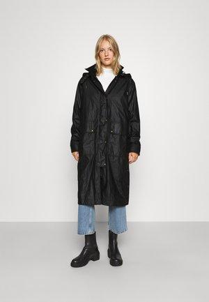 DRIFTER COAT - Impermeabile - black