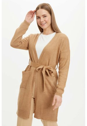 Strickjacke - brown