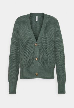 REMONE - Cardigan - shadow green