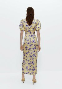 Uterqüe - Day dress - yellow - 0