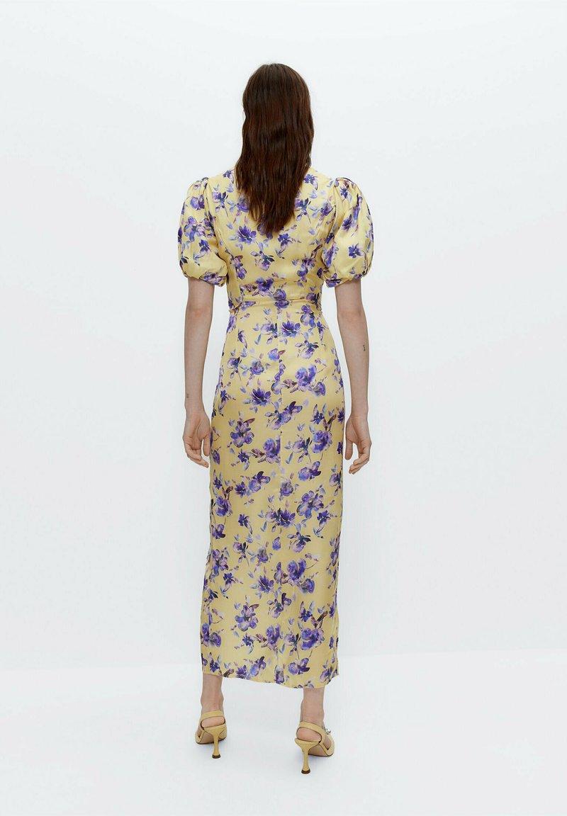 Uterqüe - Day dress - yellow
