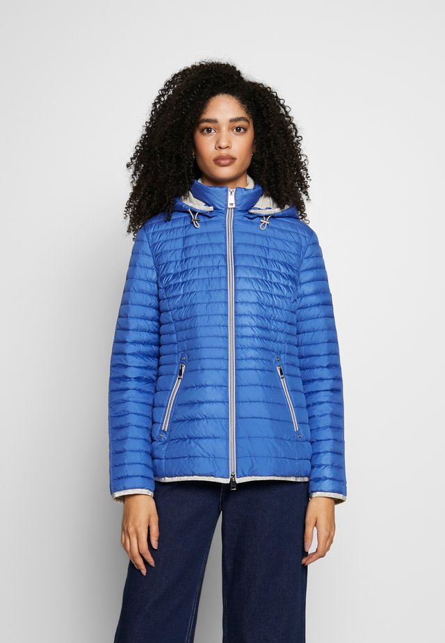 STEPP MIT KAPUZE - Light jacket - cornflower blue
