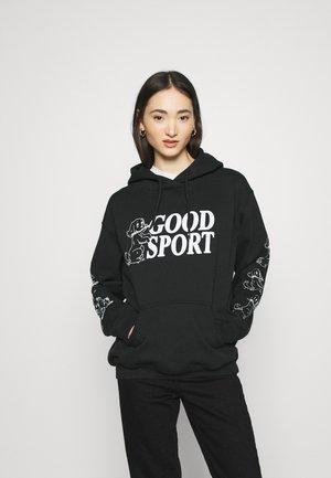 BAD SPORT HOODIE - Hoodie - black