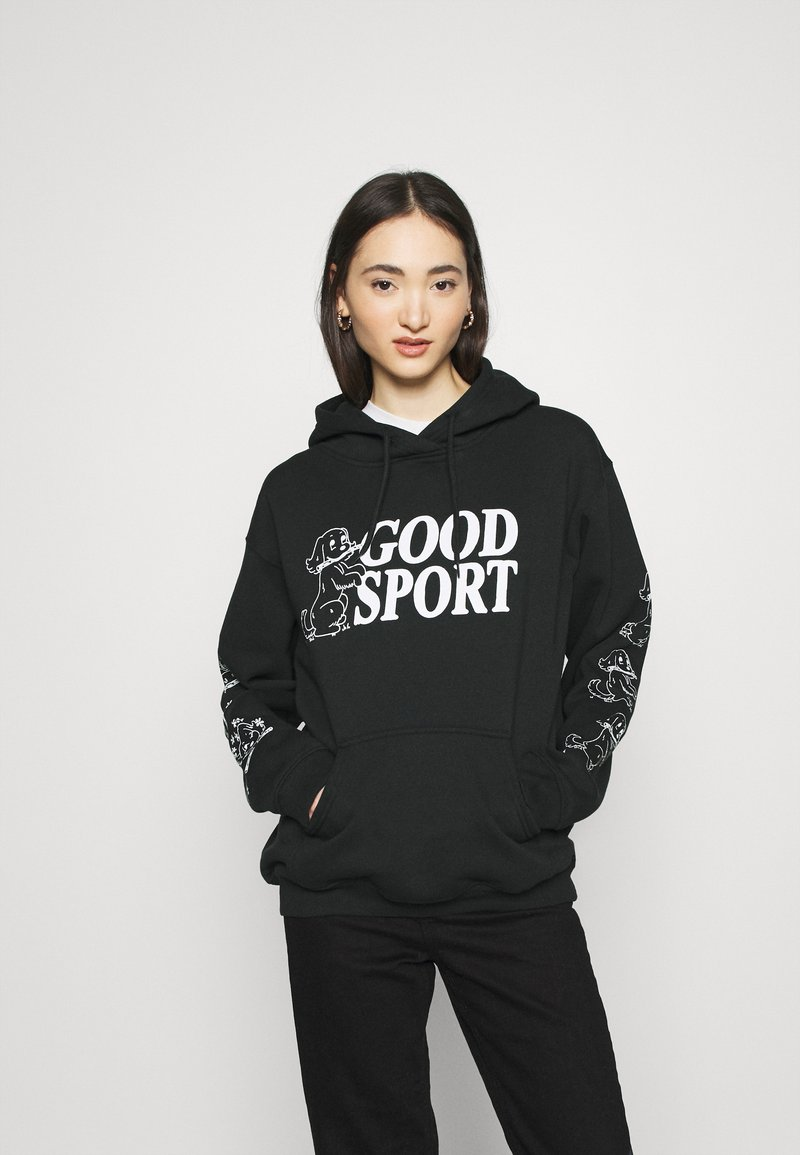 NEW girl ORDER - BAD SPORT HOODIE - Hoodie - black