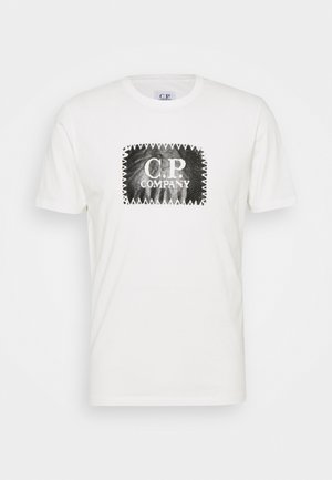 SHORT SLEEVE - T-shirt imprimé - gauze white