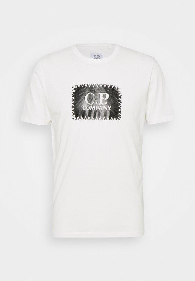 SHORT SLEEVE - T-shirt print - gauze white