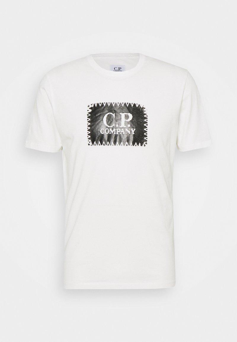 C.P. Company - SHORT SLEEVE - Print T-shirt - gauze white