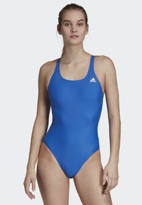 adidas Performance - ATHLY V SOLID SWIMSUIT - Swimsuit - blue - 0