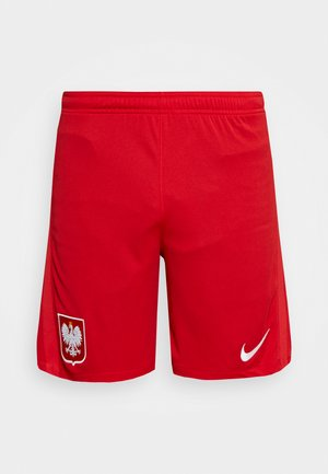 POLEN SHORT - Krótkie spodenki sportowe - sport red/white