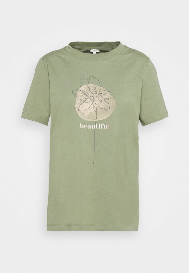 HIGH - T-shirts print - light khaki