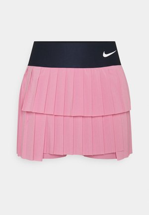 SKIRT PLEATED - Urheiluhame - elemental pink/obsidian/white