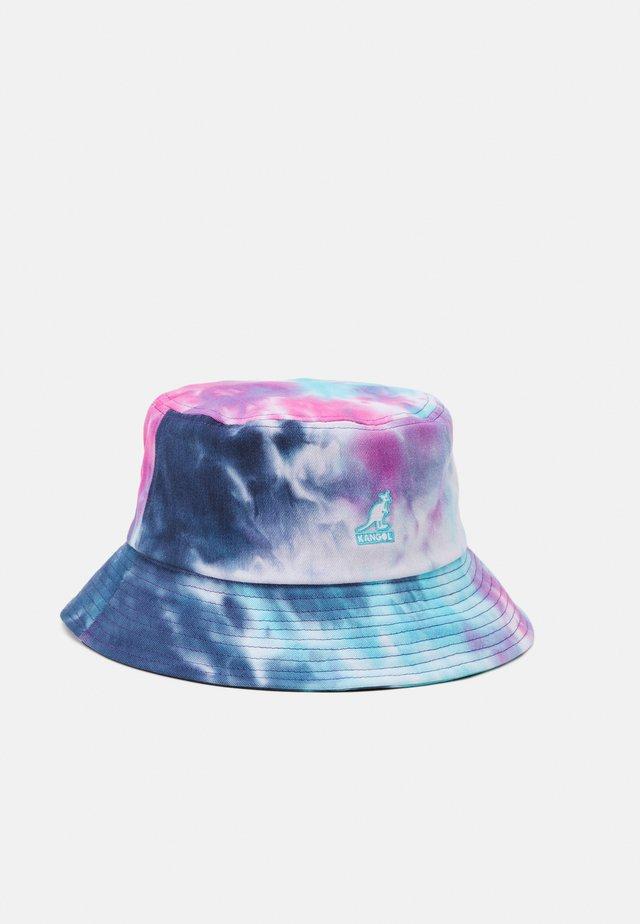 TIE DYE BUCKET UNISEX - Hattu - blue/pink/white