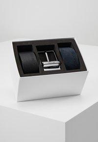 Calvin Klein - 2 PACK STRAPS GIFT SET - Pásek - black - 0