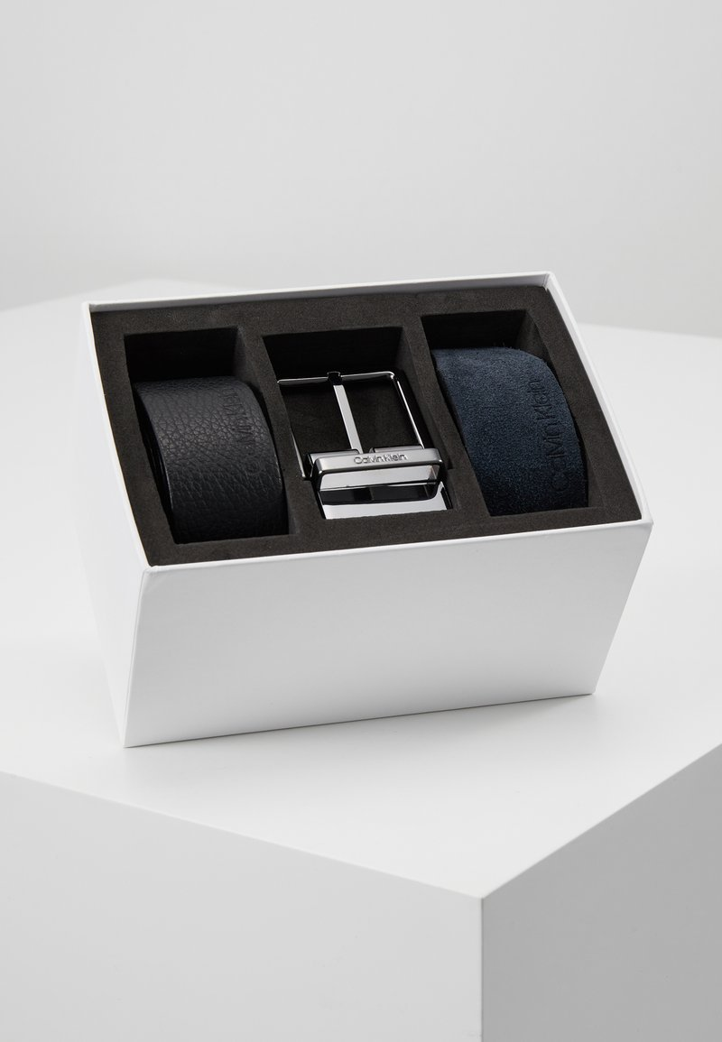 Calvin Klein - 2 PACK STRAPS GIFT SET - Pásek - black