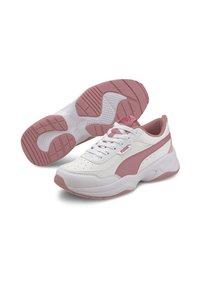 Puma - CILIA - Sneakers basse - white-foxglove-peachskin - 1