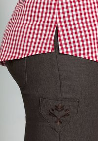 Sheego - Button-down blouse - rot - 2