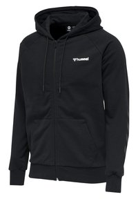 Hummel - HMLISAM  - Zip-up sweatshirt - black - 4