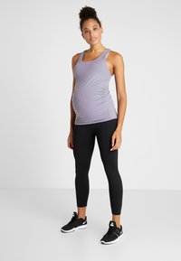 Cotton On Body - MATERNITY FITTED TANK - Top - ash amethyst - 1