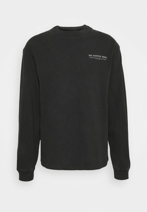 Sweatshirt - black washed
