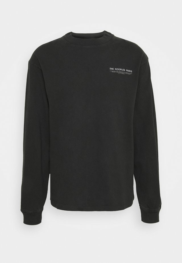 Sweater - black washed