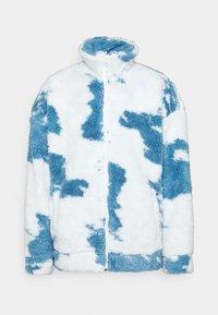 CLOUD BORG ZIP JACKET - Light jacket - blue/white