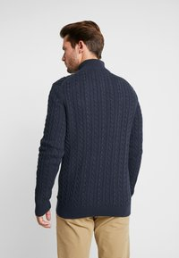 Esprit - ZIPTROYER CAB - Jumper - navy - 3