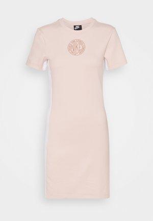 Shift dress - orange pearl/terra blush