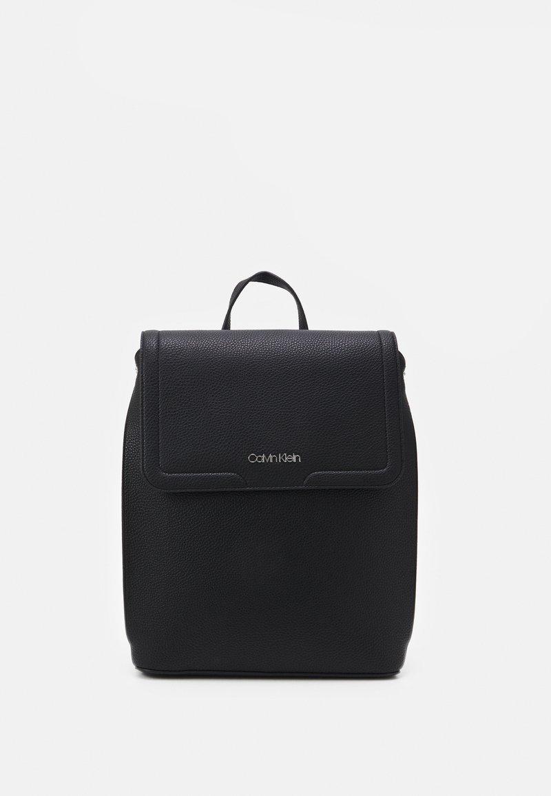 Calvin Klein - FLAP - Rucksack - black