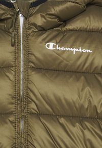 Champion - LEGACY OUTDOOR HOODED JACKET UNISEX - Winter jacket - khaki - 2