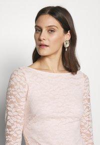 Esprit Collection - LEAVE STRETCH - Sukienka koktajlowa - pastel pink - 3