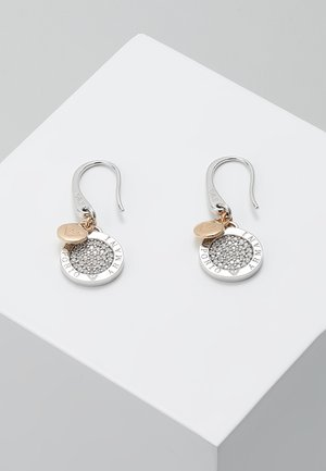 Earrings - roségold-coloured/silber-coloured