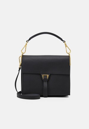LOUISE - Handbag - noir/ash grey