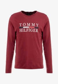 Tommy Hilfiger - LONG SLEEVE TEE - Long sleeved top - red - 3