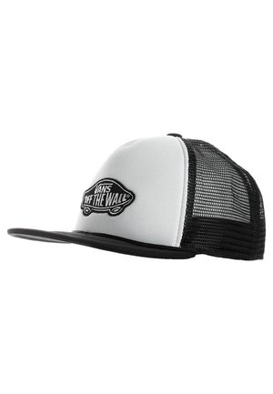 CLASSIC PATCH TRUCKER - Keps - white/black