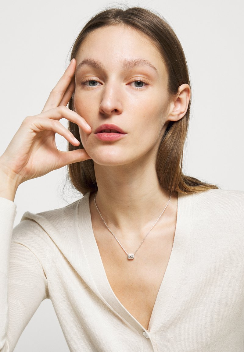 Lauren Ralph Lauren - CARDED STONE PENDANT - Náhrdelník - silver-coloured