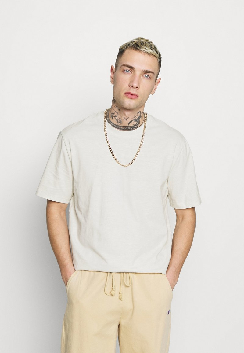 Only & Sons - ONSMILLENIUM LIFE WASHED TEE - T-paita - bright white