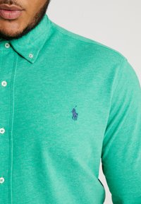 Polo Ralph Lauren Big & Tall - FEATHERWEIGHT - Camicia - palm green heather - 5