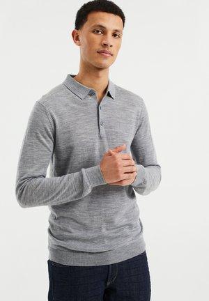 MET KRAAG - Poloshirt - blended light grey