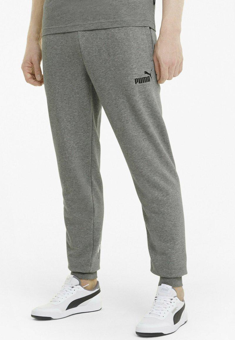 Puma - Pantalon de survêtement - medium gray heather
