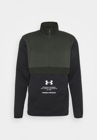 Under Armour - STORM 1/2 ZIP - Sweatshirts - baroque green - 4