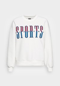Gina Tricot - RILEY SWEATER - Sweatshirt - off-white/blue - 3