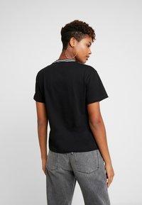 Ragged Jeans - GAIN TEE - T-shirt print - black/white - 2