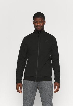 Sweater met rits - deep black