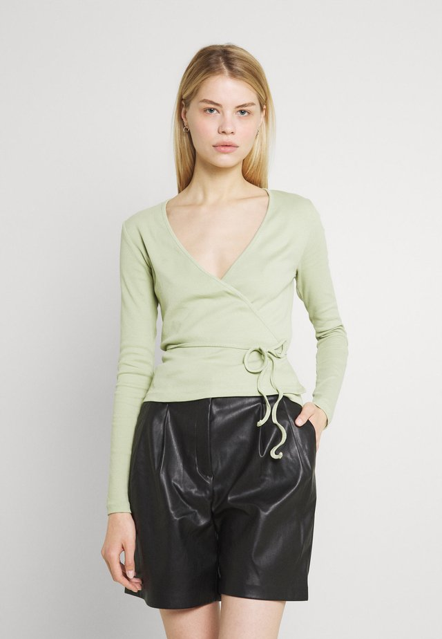 ENALLY - Long sleeved top - faded green