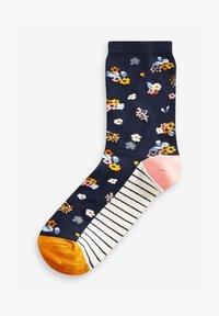 Next - FLORAL ANKLE SOCKS 5 PACK - Socks - blue - 1