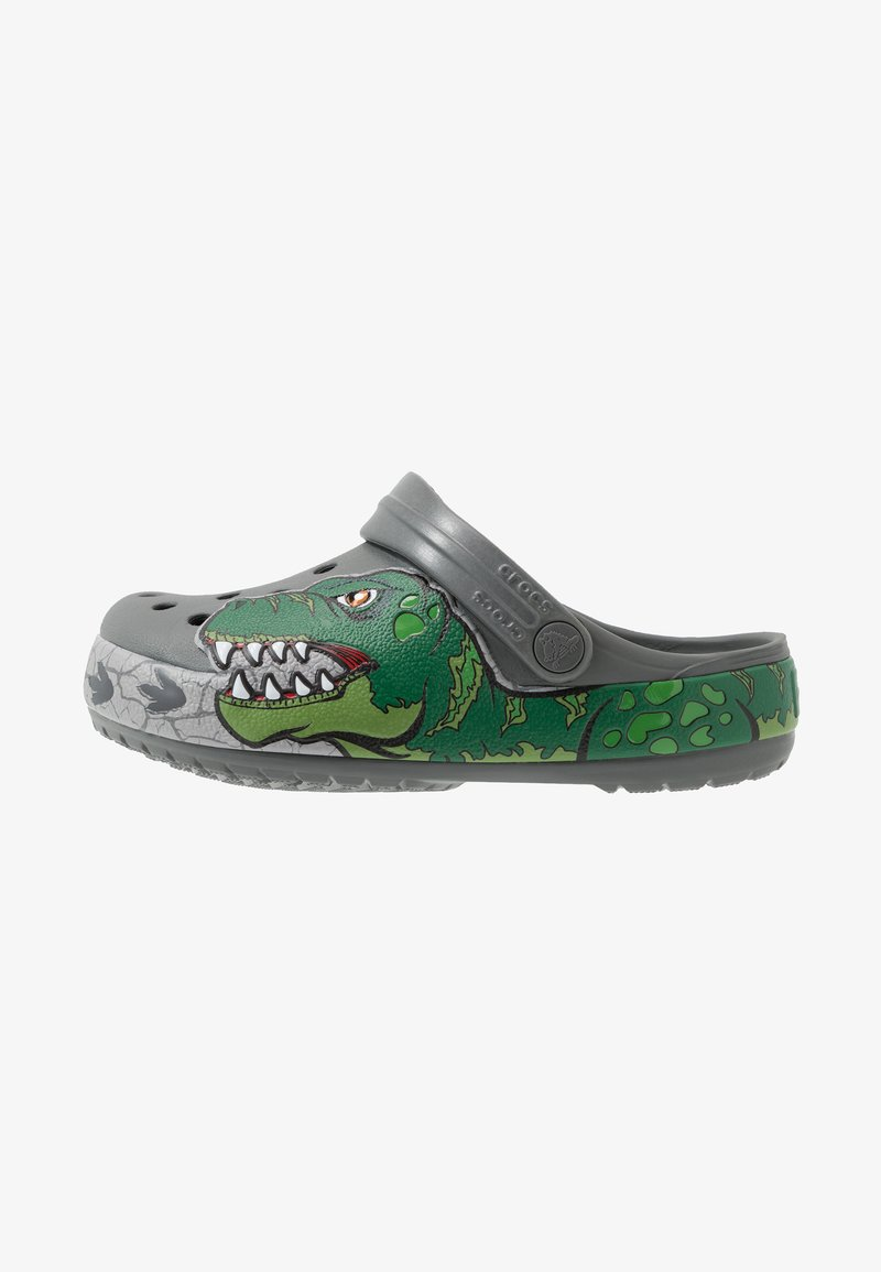 Crocs - DINO BAND LIGHTS - Mules - slate grey