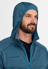 Mammut - NAIR  - Fleece jacket - sapphire melange - 3