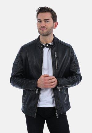 PHOENIX - Leren jas - black
